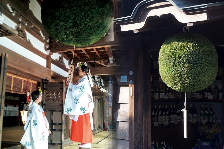 酒と三輪の歴史 奈良の日本酒 みむろ杉 三諸杉 の蔵元 今西酒造